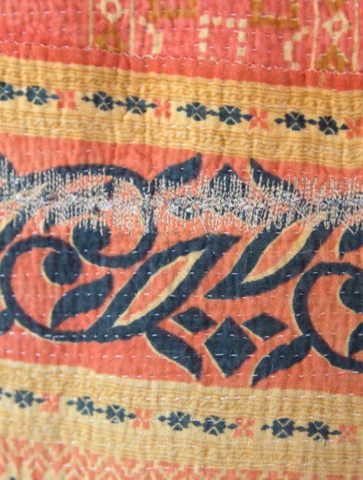Vintage Kantha Mini – Henna