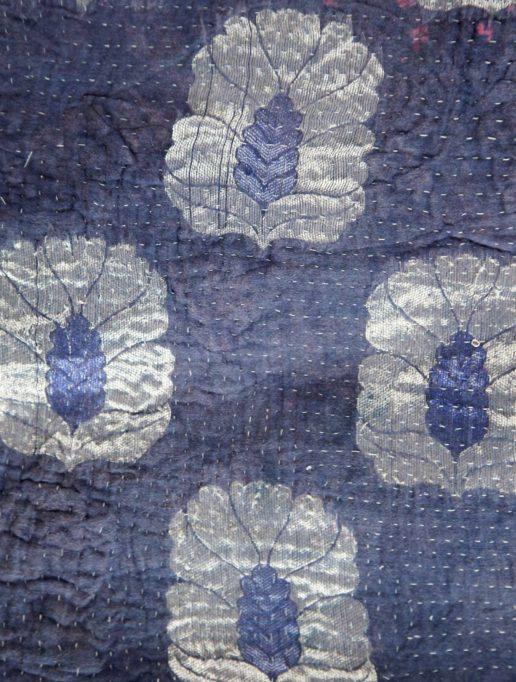 Vintage Kantha Mini – Blueberry 1